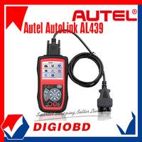 [Authorized Distributor]Auto MultiMeter AVOMeter Scanner Color Screen OBDII Diagnostic Engine Code Scanner Autel Autolink AL439