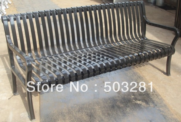 outdoor metal park benches sales to usa(China (Mainland))