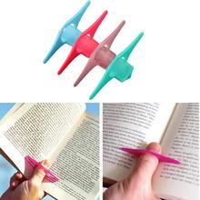 Convenient Multifunction Bookmarker Thumb Book Holder #7121(China (Mainland))