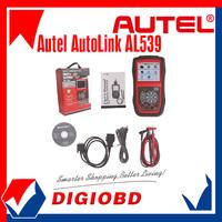 [Authorized Distributor]OBDII+Electrical Autolink AL539 Test Tool Autel Auto Link AL-539 Internet Update Multilingual menu