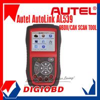 [Authorized Distributor]100% Original AL539 OBDII+Electrical Test Tool Autel AutoLink AL539 Internet Update Multilingual menu