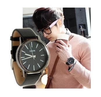 2014 New Arrival SINOBI Brand Leather Strap Watch for Mens Man Fashion Style Quartz Military Waterproof Wristwatch(China (Mainland))
