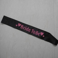 FREE SHIPPING hen party wholesale sash  cheap satin sashes 10pcs/lot