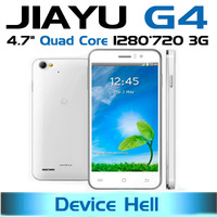 Free shipping In stock original 4.7'' Jiayu G4 smart phone 1G 4G or 2G 32G Quad core MTK6589 Android 4.2 Camera 13MP Dual SIM