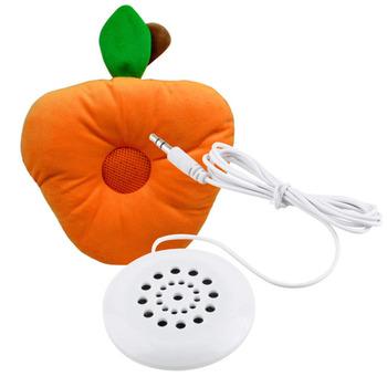Headphone Mini Speaker Earphone White 3.5mm Pillow for Sleeping  for iPodHot Selling for MP3 MP4 Player