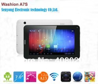 7'' Capacitive Allwinner A13 3G Tablet PC with SIM Card slot Built in 3G Phone Call Washion A7S 8GB wifi dual camera