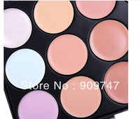 Big Disount ! best quality,15 Color Concealer Camouflage Makeup Palette Set Drop Cosmetic Free Shipping, by china post