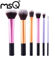 Free Shipping (26pcs/set)  Kolinsky/Goat Hair Cosmetics Makeup Brush Set +Wine red PU Bag     HOT SALE