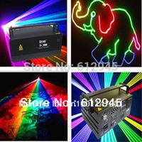 2W Full color Animation Laser show MOQ 1pcs