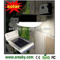 Outdoor Solar Powered Lamp 16 LED Wall Light Ray/ PIR Induction Motion Sensor Detector /Garden Yard Steet Lighting