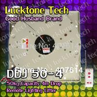 Remote-controlled Lighting Lifter Chandelier Hoist Light Lift DDJ50-4 (50kg Capability 4m drop 110--240V)