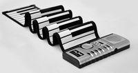 49 Keys Flexible Roll Up Portable Electronic Piano Soft Slicone Keyboard Synthesizer Midi Digital Organ,Originality Gift