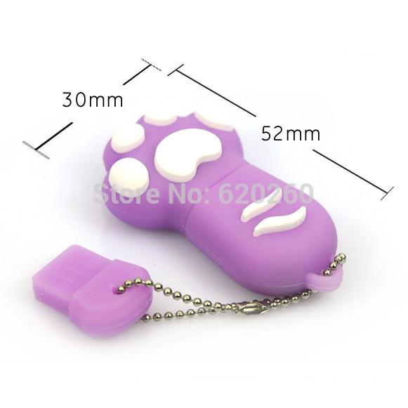 New Cartoon Cat Claw Usb flash drive 2gb 4gb 8gb 16gb 32gb cat s claw usb