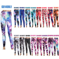 HOT NEW SEXY Women Galaxy Leggings , Starry Night Space Print Pants Black Milk Sky Milky Stretchy Leggings  FREE SHIPPING