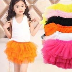 Free shipping lace Yarn Skirts children's tutu skirt Girls cake /Girl tutu skirt/Kids wear,baby girl skirts,baby clothing(China (Mainland))