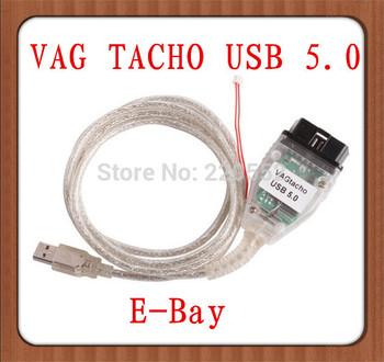 2014 Vag tacho usb  5.0 for  For NEC MCU 24C32 or 24C64  vag tacho K+CAN car  diagnosti  tool