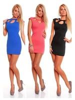 Black Blue Pink Fashion Ladies Siamese Underwear with zipper Sexy Club Dress clubbing wear Exotic Clubwear free shipping Y081