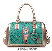 spring female bags vintage cutout one shoulder handbag messenger bag Free shipping Hot sale