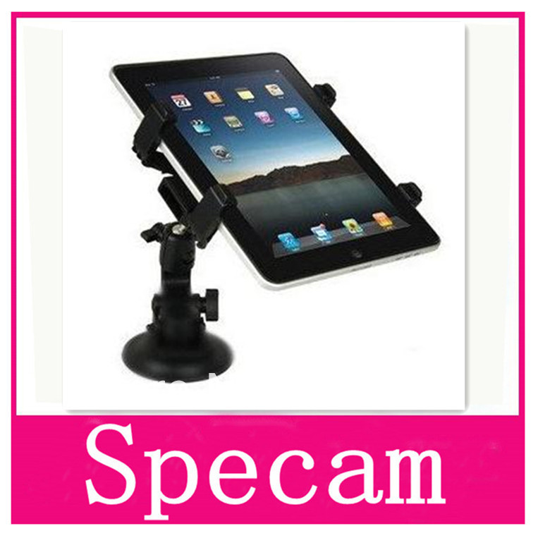 High quality Cradle Bracket Clip Car Holder for Ipad for tablet pc ,gps For back on car +free/drop shipping(China (Mainland))