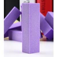 10pcs purple23*23mmBuffer Buffing Sanding Files Block Acrylic Nail Art Tips Manicure Tool wholesale Dropshipping