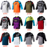 No6830 Troy Lee Designs Sprint Jersey MX DH Offroad Cycling Bicycle cycle Bike Sports TLD Jersey Wear  T-shirts