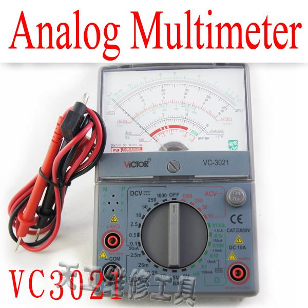 Мультиметр VC3021 AC DC мультиметр fuke dt9205a ac dc lcd dt9205a