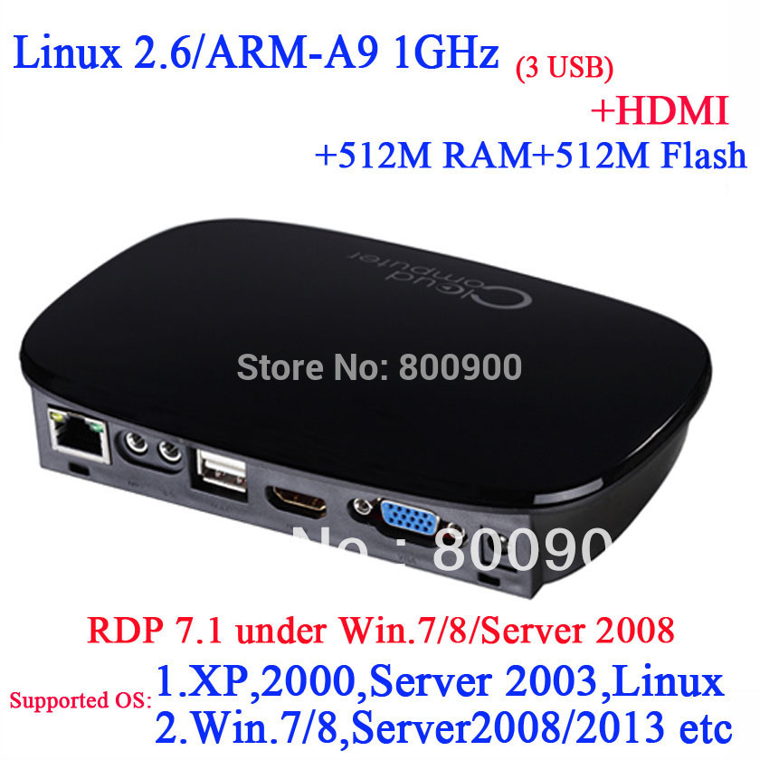 FL300 RDP 2014 best linux 2.6 thin clients with HDMI RDP 7.1 1920*1080 512M Ram 512M flash ARM-A9 Processor 1Ghz Multi-language(China (Mainland))