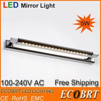 Direct Selling Sconce Arandela 2014 led lamp mirror bathroom light 5570 Led Wall Lamp Light 5w for Stylish 220v