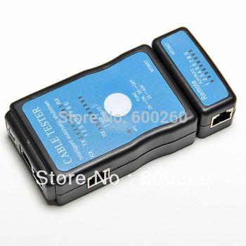 Free shipping Cable Tester LAN USB Network RJ45 Cat5 RJ11  #9706