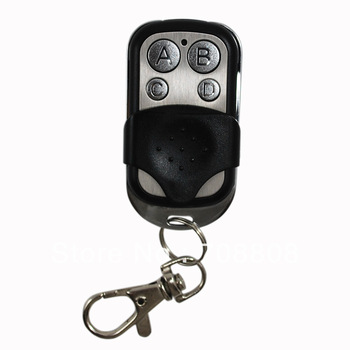 Free shipping 4 channel universal remote control duplicator Copy Code Remote learning garage door opener 433 mhz