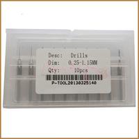 10pcs 0.25-1.15MM Drill Bits Set , Engraving Drill Bit , Mini Drill Bit Set , Free Shipping