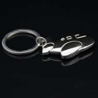 Wholesale Mini Airplane Personalized Keychain Key Ring Key Ring Chain Logo