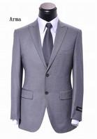 2013 New style men business suit high quality dress suit 100% wool size XS-5XL coat+pants