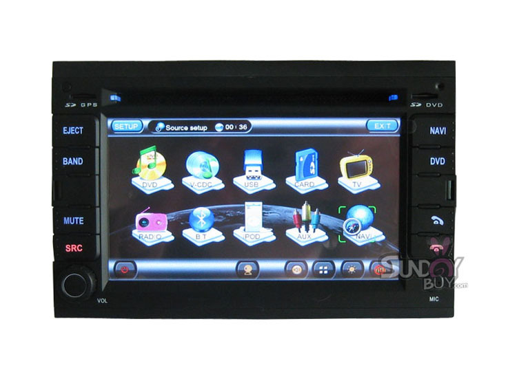 For Peugeot 307 HD Car DVD Player 7inch built-in GPS Navigation Stereo With Can Bus 8917(China (Mainland))