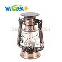 New free shipping wholesale retail Adjustable brightness LED solar camping lantern