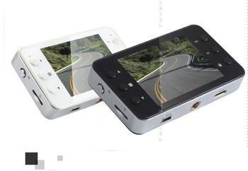 K6000 Dual Camera lens Car DVR Car Camera 1920*1080P H.264  Night Vision 5MP CMOS Sensor Russian Language support