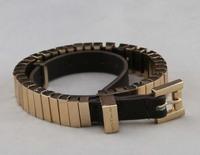Freeshipping Fashion Jewelry watch-link double-wrap belt bracelet