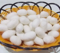100% Pure Native Cocoons Silk Cocoon Shell Chamfer Silkworm Cocoon Ball Natural Remove Black Head Wholesale Free shipping