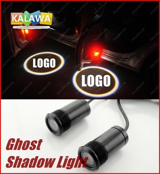 LED car logo door light fit for benz ghost shadow light  welcome lamp A29 GGG FREESHIPPING