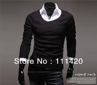 Man Sweaters Hot Selling Fashion  Cotton Sweater  T Shirts