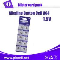 10PCS/PKCELL AG4 SR626 LR66/177/626 SR66 177 377 LR626 1.5V Button Cell Coin Battery