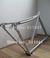 Titanium alloy bike frame, fork set titanium mountain bike frame Paypal is available