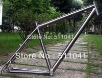 "FACTORY SUPPLY Titanium bike frame,GR9  29"" MTB Frame ,free shipping, titanium mountain bike frame ,Paypal is available"