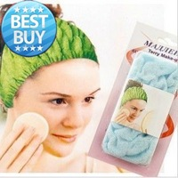DHL Free Shipping stretch cotton beauty headband hairdo towel turban