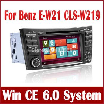 Car Radio Car DVD Player for Mercedes Benz W211 / CLS W219 CLS350 CLS500 CLS550 w/ GPS Navigation Bluetooth TV Map USB Navigator