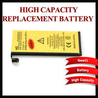 Unique 2430MAH High Capacity Gold Replacement Battery for iPhone 4 4G