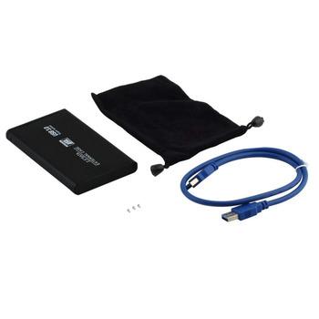 "! 2.5\"" USB 3.0 SATA External Hard Drive HD Enclosure/Case"