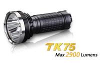 Free Shipping Hongkong Post Air Mail Fenix TK75 L2 XM-L2  U2 LED 2900 Lumens Flashlight Waterproof Rescue Search Torch