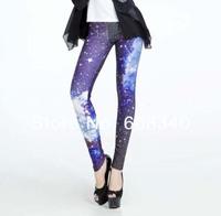 Retai Sale Dropshipping Hot-Selling Women Print Galaxy Cosmic Leggings Skinny Nebula leggings Fashion New Good Quality LE-007