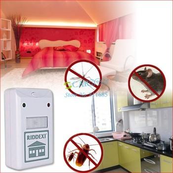 4pcs/lot Riddex Plus Electronic Helminthes Mosquito Pest & Rodent Repeller  Hot Sale 295